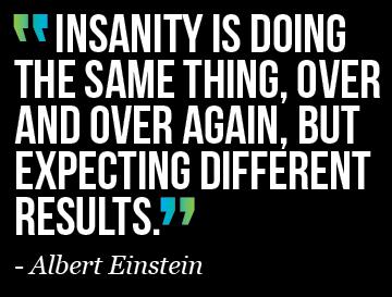 INSANITY - Einstein